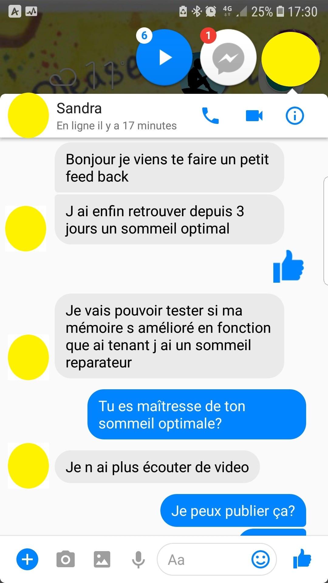 Shaff Ben Amar - Avis Sandra Hypnose et sommeil - screenshot 1- Hypnotiseur-Paris - Bourg-la-Reine