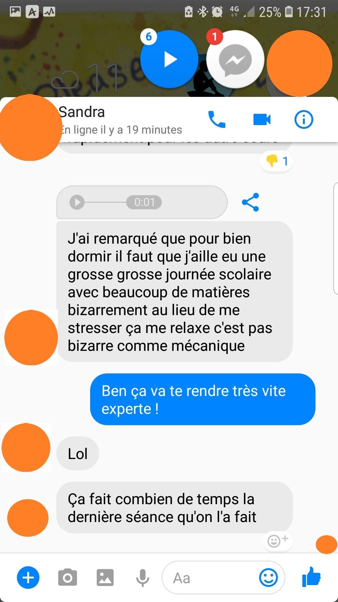 Shaff Ben Amar - Avis Sandra Hypnose et sommeil - screenshot 4 - Hypnotiseur-Paris - Bourg-la-Reine
