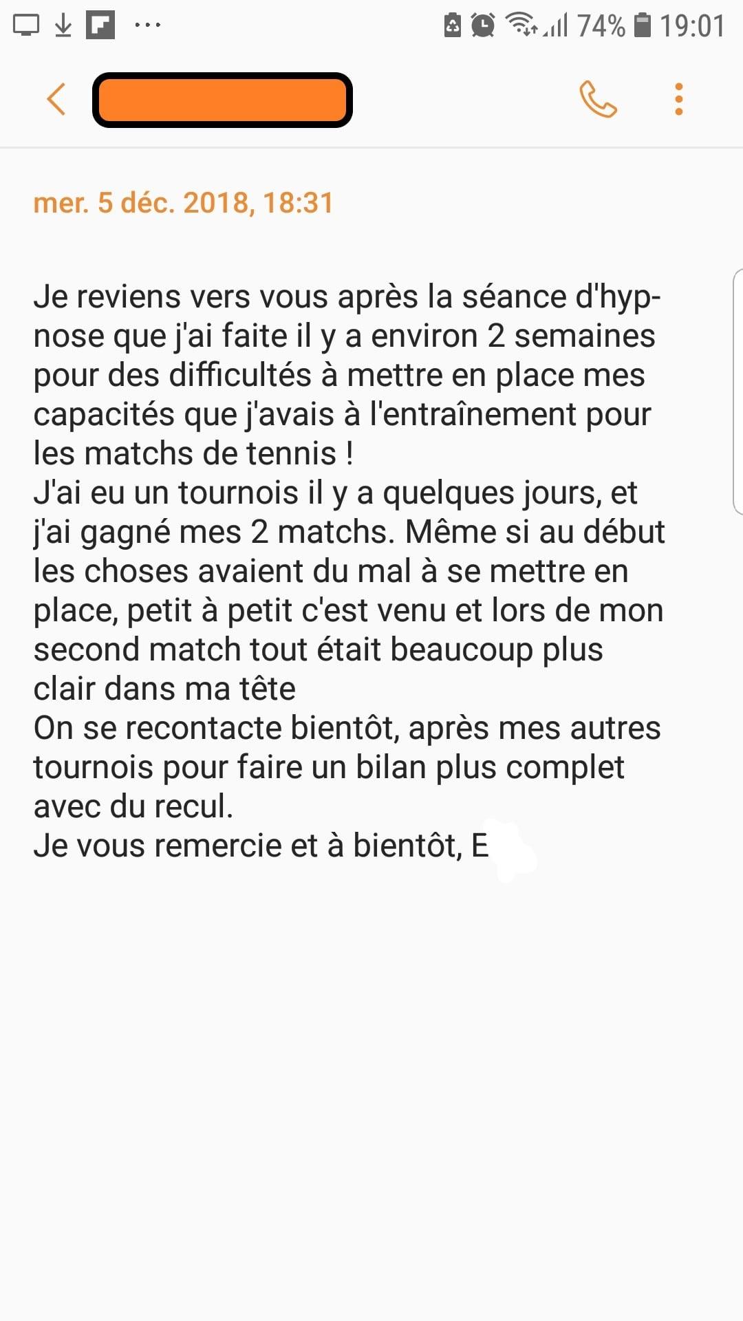 Shaff Ben Amar - Avis E Antony Hypnose et Tennis - Hypnotiseur-Paris - Bourg-la-Reine - Sceaux - Fresnes - Arcueil - Cachan - Bagneux - Gentilly - L'Hay-Les-Roses