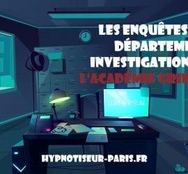 Departement investigation de academie grifasi Shaff Ben Amar Hypnose Bourg-La-Reine f