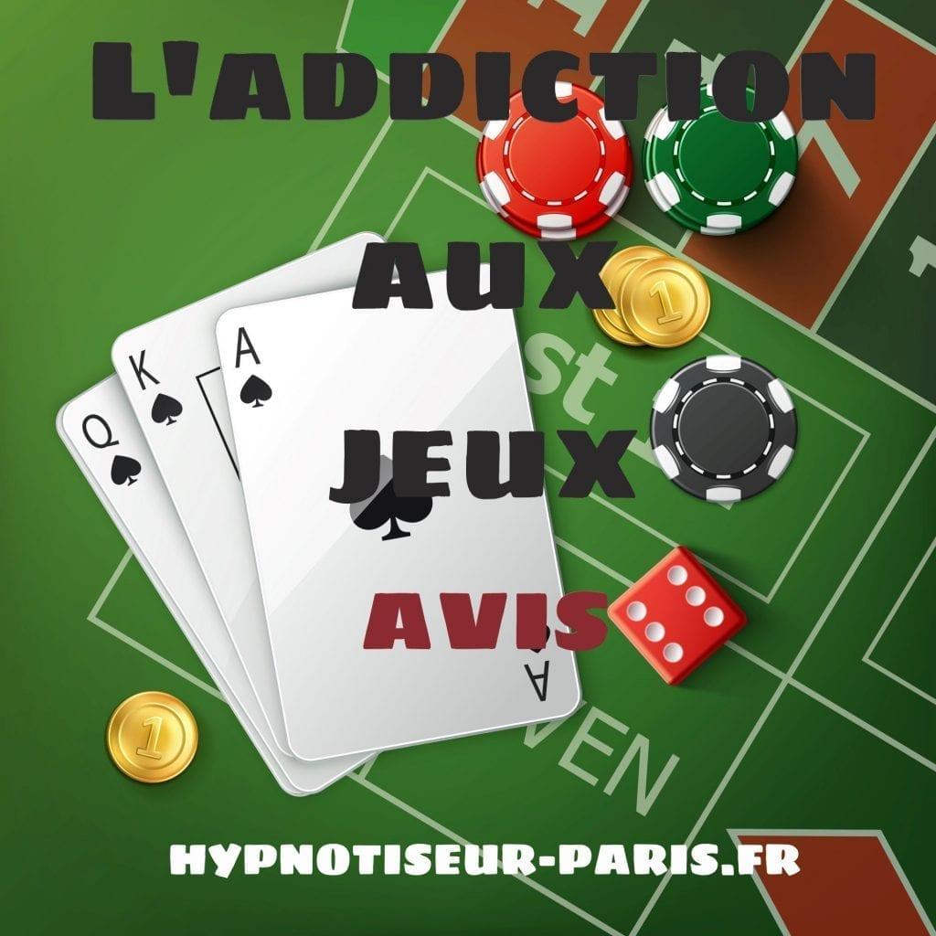 Addiction aux jeux L'addiction aux jeux AVIS Shaff Ben Amar Hypnose Bourg-La-Reine